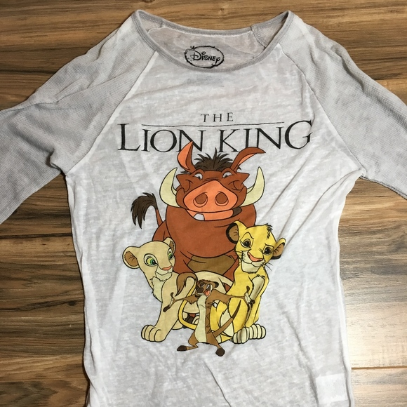 9b5fae10 Disney Tops | The Lion King Long Sleeved Tshirt Small 35 | Poshmark